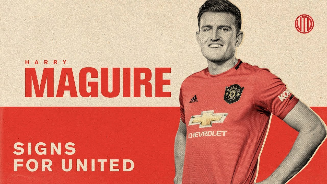 Harry Maguire Signs For United