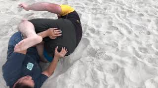 A Little Jiu Jitsu Beach Fun