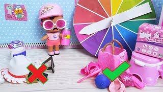 24 ЧАСА ТОЛЬКО РОЗОВЫЙ КУКЛЫ ЛОЛ СЮРПРИЗ МУЛЬТИК рулетка челлендж куклы мультики
