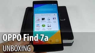 Oppo Find 7a Unboxing (Tablet-News.com/ Full HD) - Tablet-News.com