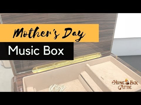 Mother's Day Musical Jewelry Box