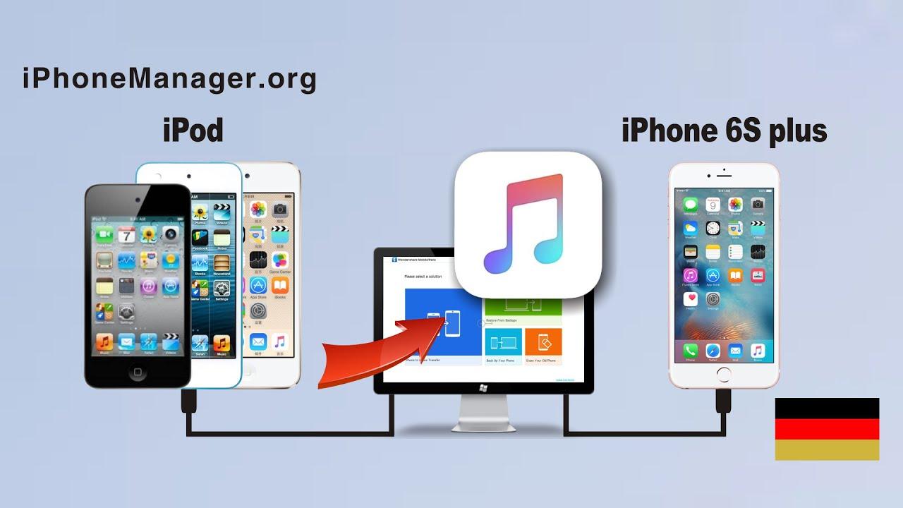 musik vom iphone auf ipod nano übertragen