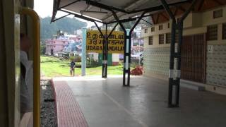 Ooty - Nilgiris Mountains Traversed by Train