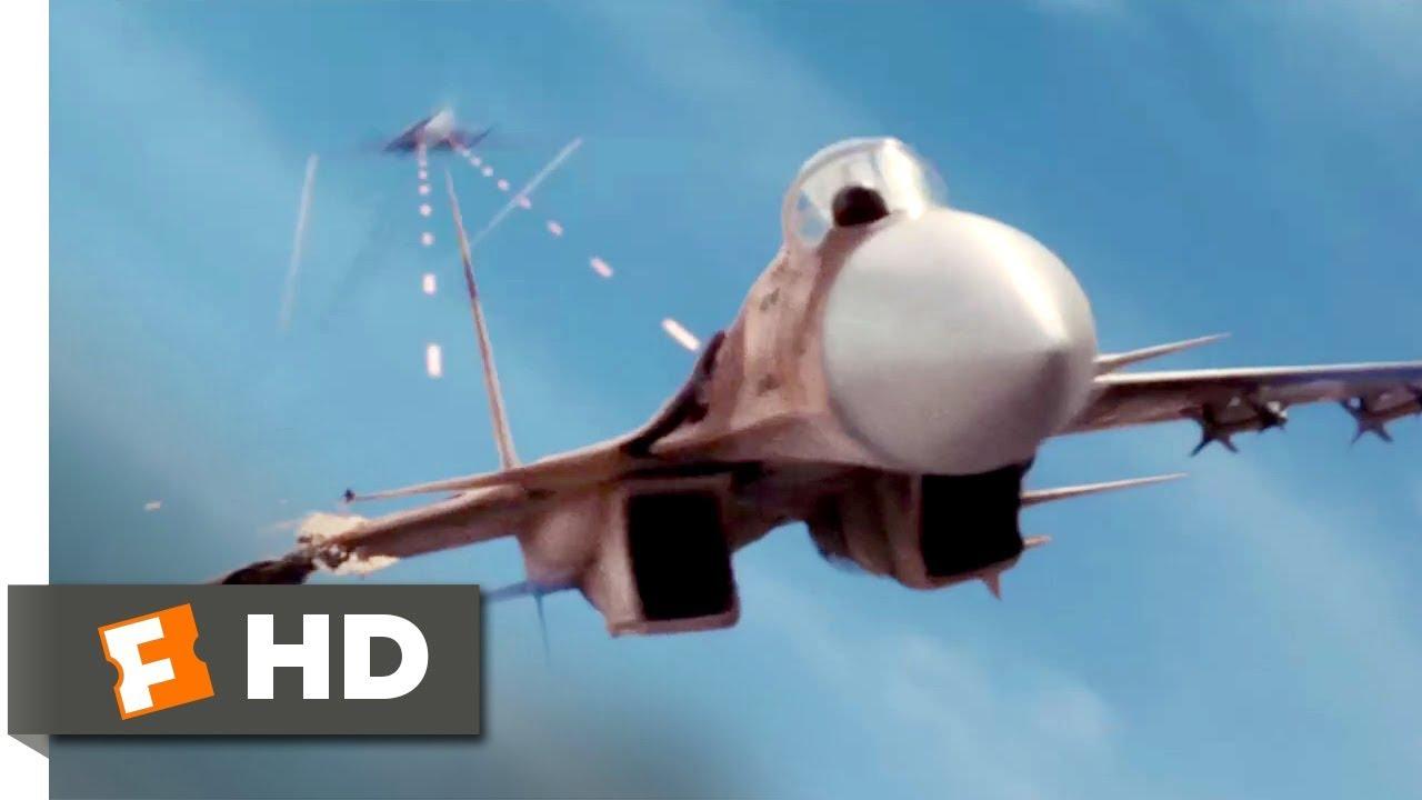 Stealth (2005) - EDI Dogfight Scene (9/10) | Movieclips