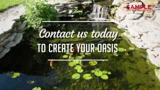 Outdoor Services-Personal Oasis Sample