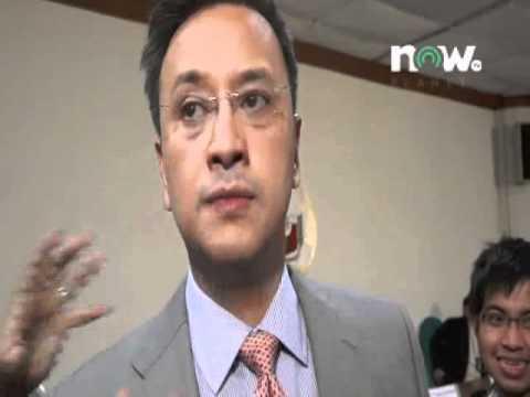 Ambush Interview with House Spokesperson Atty. Miro Quimbo 02-21-12