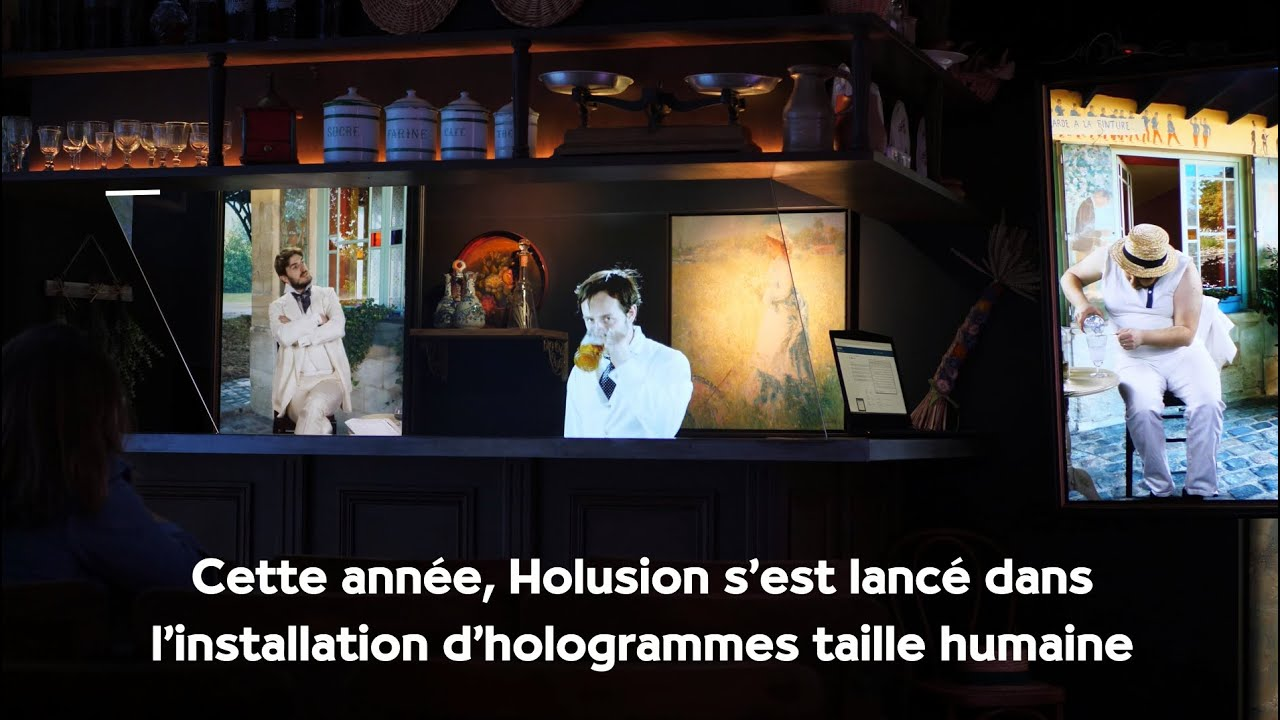 Des hologrammes taille humaines