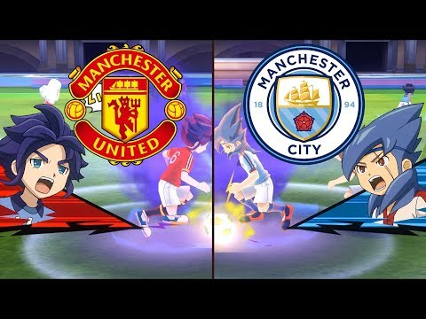 Full HD 1080P Inazuma Eleven Premier League ~ Manchester United vs Manchester City