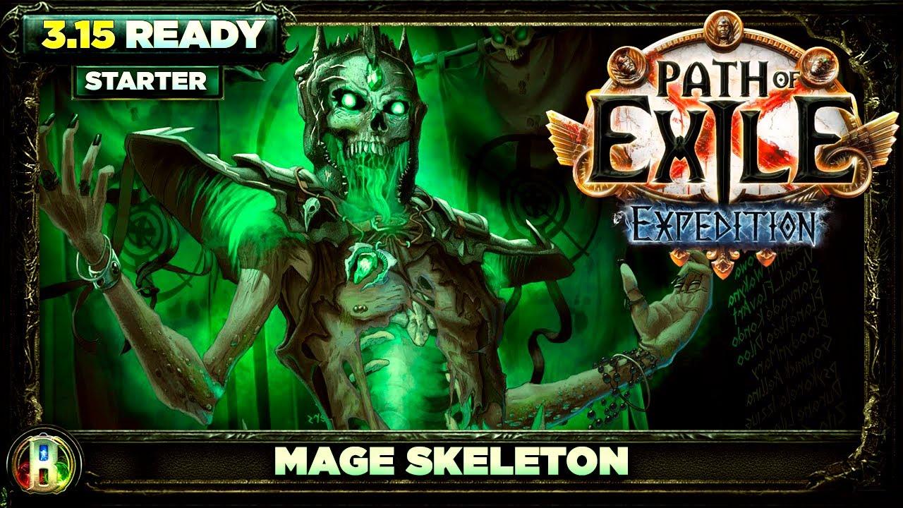 Path of Exile 3.14 - Mage Skeleton Build - Necromancer Witch - PoE Ultimatum - PoE 3.14