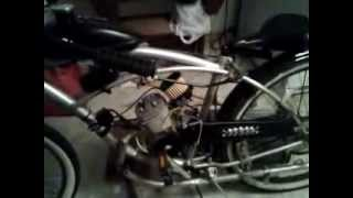 80cc motorized bicycle with chainsaw carburetor