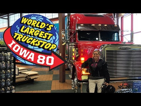 World's Largest Truck Stop | Cross Country Motorcycle Trip Day Two
