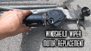 How Replace Wiper Motor