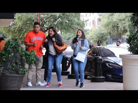 BUSHMAN PRANK – Houston Astros Gameday Scare!