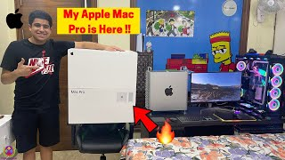 MY APPLE MAC PRO IS HERE - FIRST PERSON TO BUY IN INDIA !! 🔥🔥