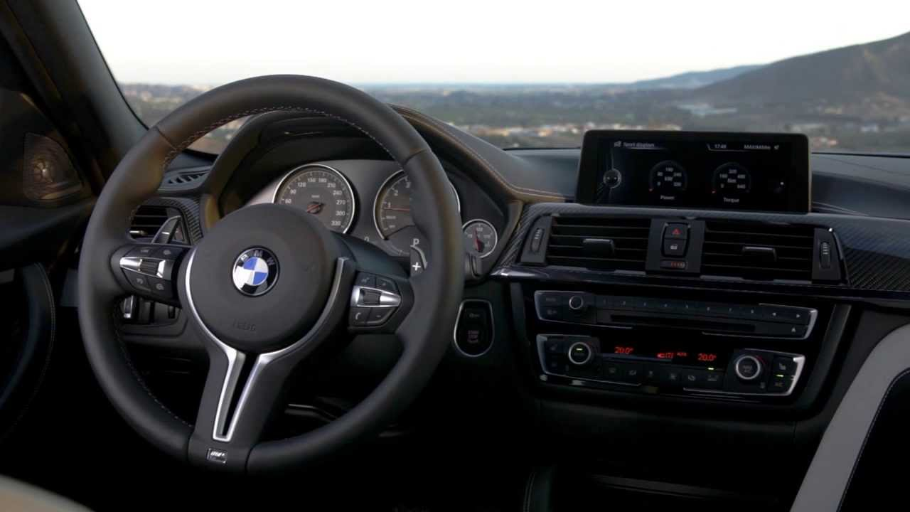 Interior 2015 Bmw M3 F80 Youtube