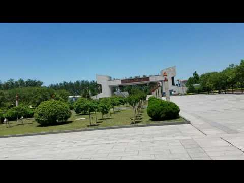 Puyang Vocational and Technical College Tour, Video 3 Library Square and Main Gate