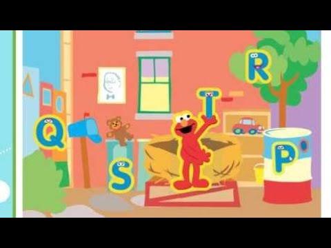 Kids Game -  SESAME STREET ALPHABET HUNT KIDS FUNNY GAMES