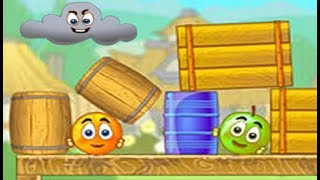 Juegos para Niños Pequeños | Aventuras de la Bolita Naranja Saltarina #3 | Cover Orange 3