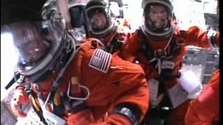 Cockpit view of Space Shuttle Atlantis STS-135 launch