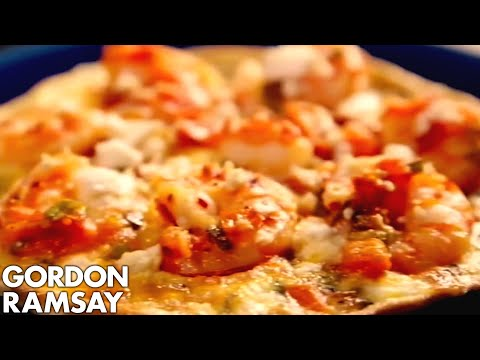 Prawns & Feta Omelette Gordon Ramsay