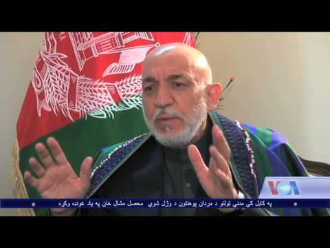 - Former President Hamid Karzai is talking about latest US bomb in Nangarhar – VOA Ashna