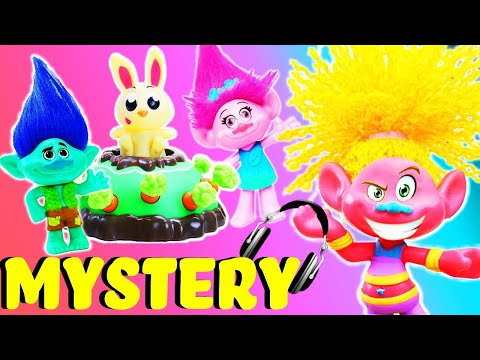 Trolls Jumping Jack Mystery Game! Poppy, Branch & DJ Suki! Learn Numbers!