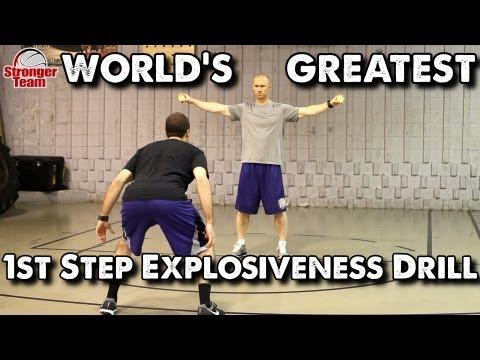 World's Greatest 1st Step Explosiveness Drill for Basketball: Tennis Ball Drop