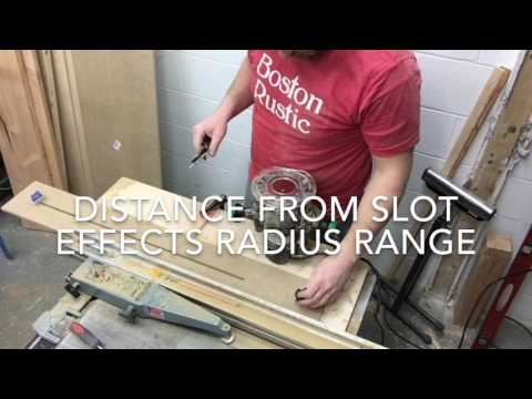 Circle Cutting Router Jig - DIY with no templates