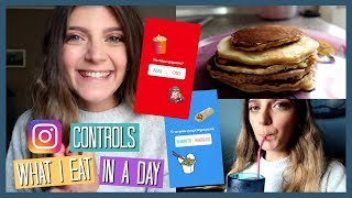 Instagram Controls What I Eat In A Day | katerinaop22