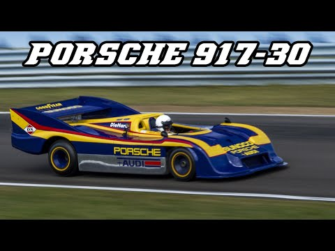 Porsche 917-30 - Demo laps at Zandvoort 2016 (fly-by's & idle)