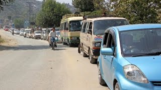 Vehicles passing through police check post without security clearance in Islamabad