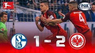 Schalke 04 - Eintracht Frankfurt [1-2] | GOLES | Jornada 28 | Bundesliga