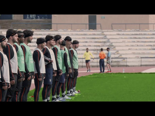 Recording motion capture data for a full soccer team using Xsens