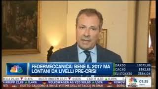 CLASS CNBC - 144^ Indagine Congiunturale Federmeccanica: Intervista al Vice Presidente Fabio Astori