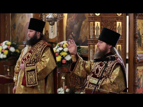 Видео: Последование Недели Православия в Святогорской Лавре 8.3.20 г.