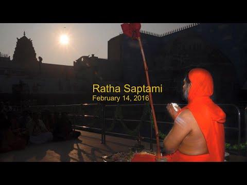 Ratha Saptami ~ Feb 14 ~ Mysuru Ashrama
