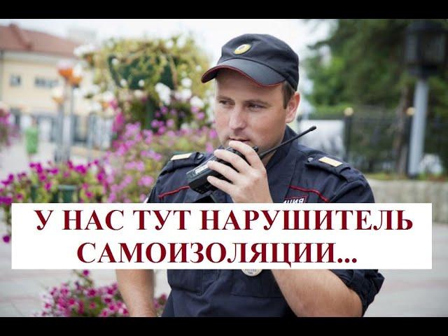Как правильно общаться с полицией на САМОИЗОЛЯЦИИ!