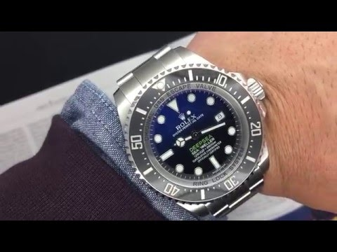 "Rolex Deepsea D-Blue Dial 116660 James Cameron 44mm | DavidSW ""On Today's Wrist"""