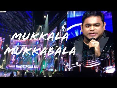 AR Rahman Live In Concert Dubai 2019 - Mukkala Mukkabala