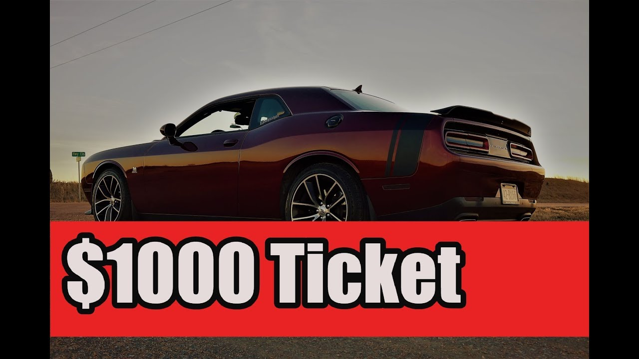 how to fight modified exhaust ticket