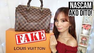 FAKE LOUIS VUITTON BAG (NA-SCAM AKO SA CAROUSELL!!)