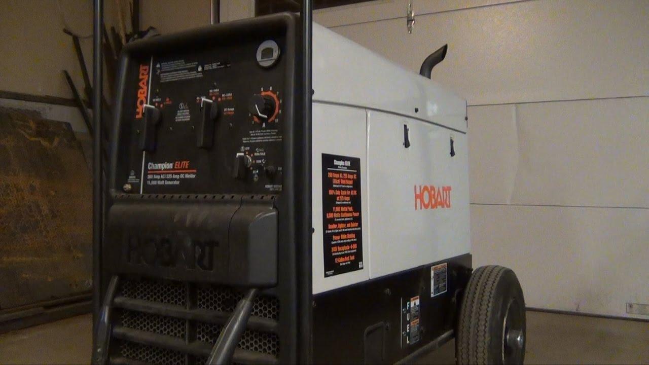 Hobart Champion ELITE Generator Welder 11,000 Watt