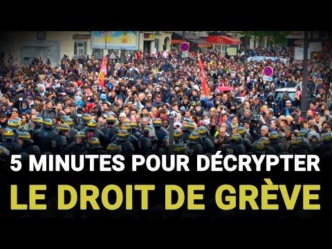 5 minutes pour décrypter le droit de grève