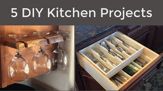 5 Quick and Easy DIY Kitchen Projects