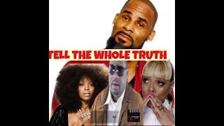 EXCLUSIVE: R.KELLY AND SPARKLE SECRETS AND ERYKAH BADU DEFENDS R.KELLY.
