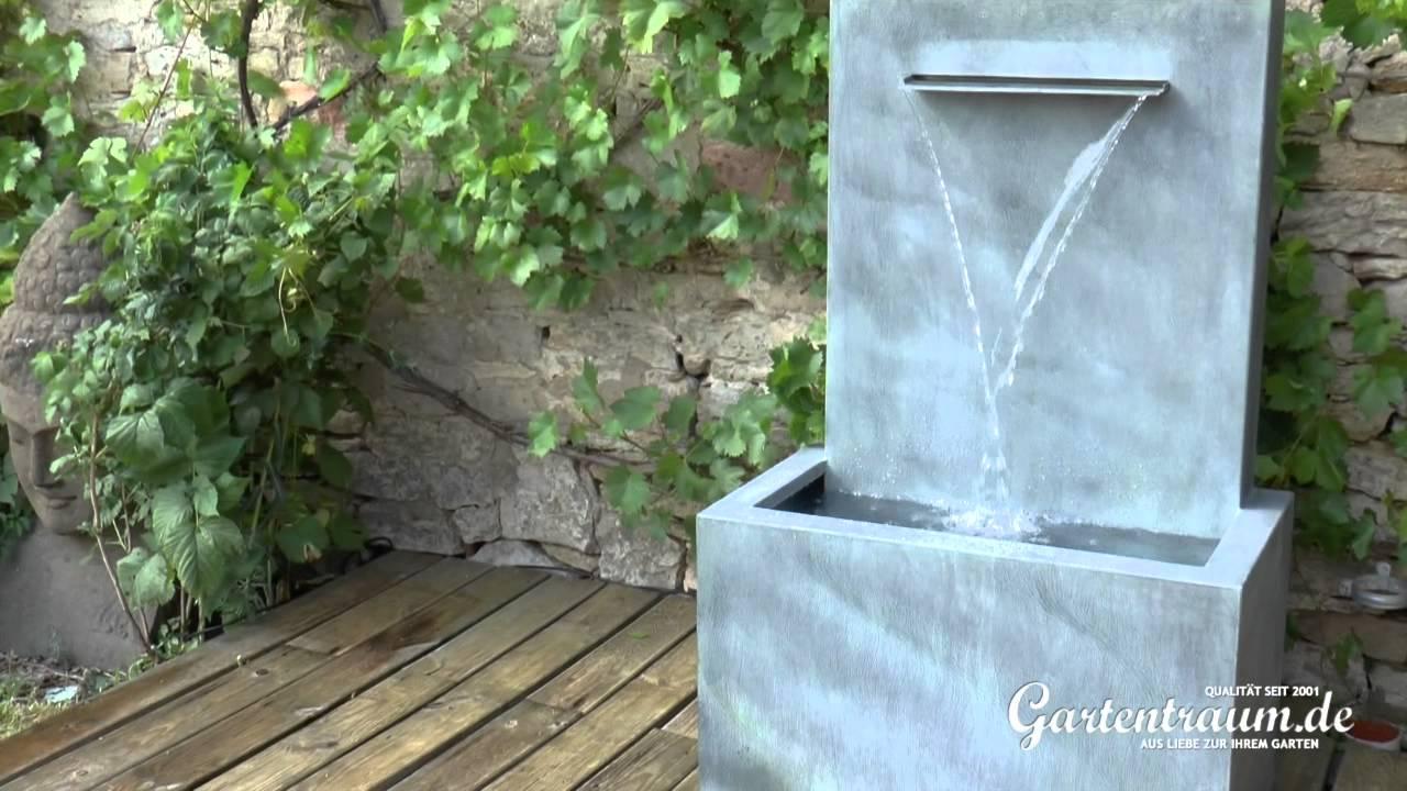 Wandbrunnen Aus Zink Fascio Youtube