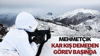 Mehmetçik Kar Kış Demeden Görev Başında