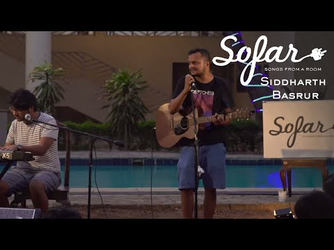 Siddharth Basrur - Bad Words | Sofar Pune
