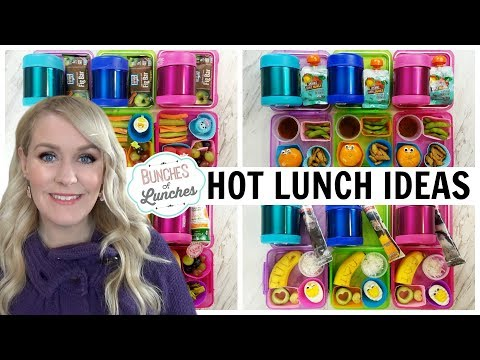 HOT SCHOOL LUNCH IDEAS || Getting the Kids to Try NEW Foods!