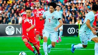 Таджикистан - Япония, Отборочный турнир ЧМ-2022, Азия, Обзор матча